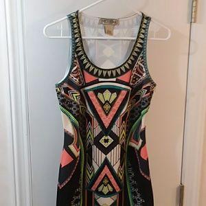 Sexy Geometric Dress